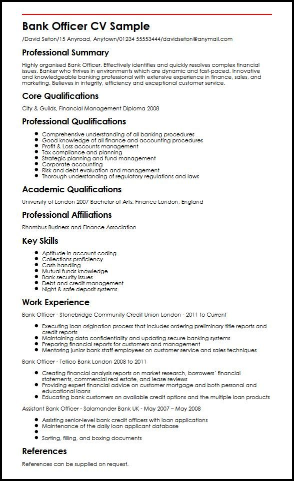 resume examples banking good job sample templates format for bank entry level tax Resume Resume Format For Bank Job