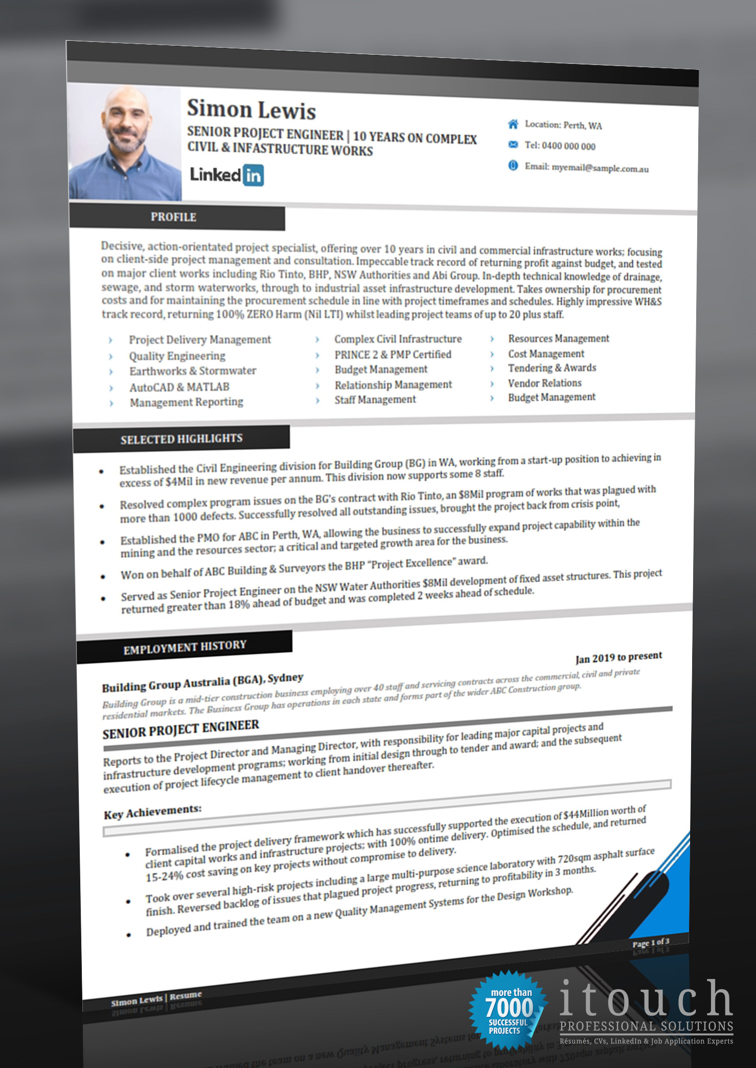 resume examples for the australian format writing style project engineer lg lpn duties Resume Resume Writing Australian Style Examples