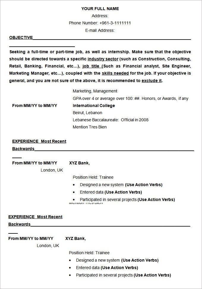 resume examples pdf free premium templates example of professional for template Resume Example Of A Professional Resume For Free