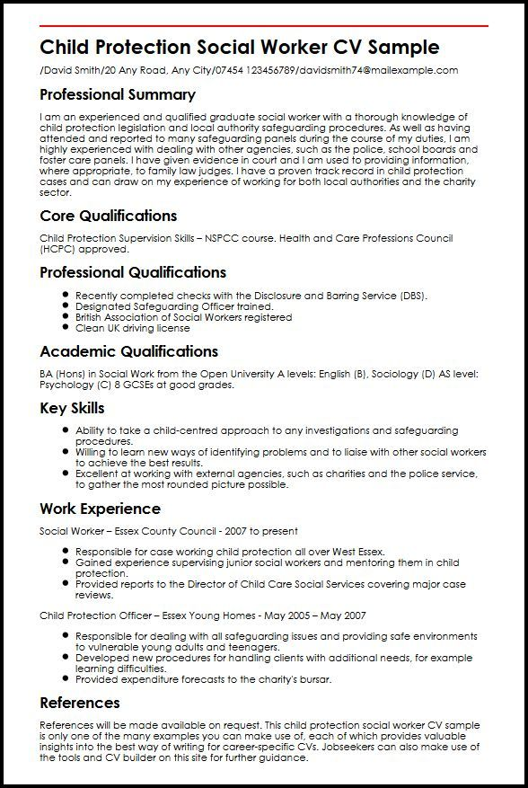 resume examples social work skills worker sample templates executive summary example Resume Social Worker Resume Sample Templates