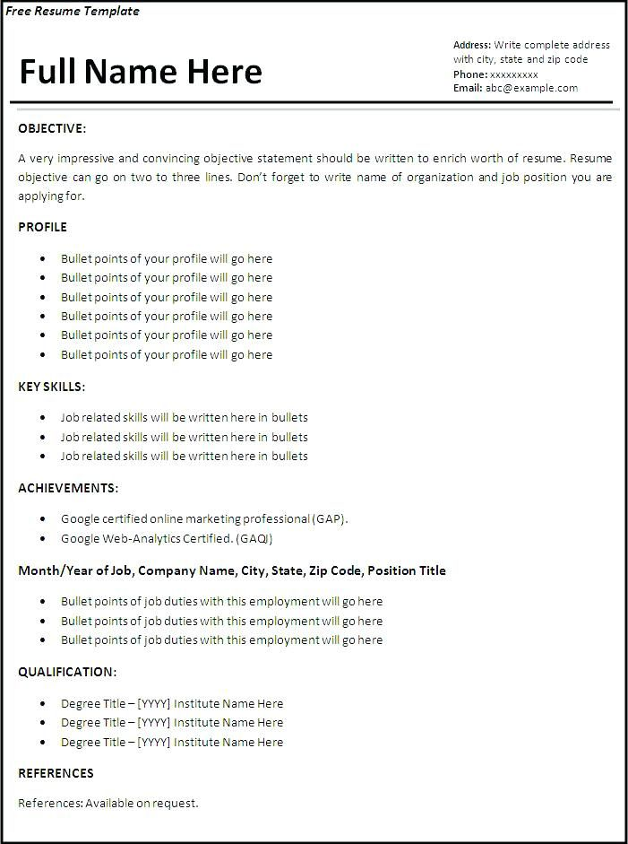 resume examples website is for resources and information first job format points writing Resume Points For Resume Writing