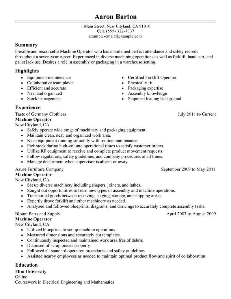 resume examples website is for resources and information writing samples skills Resume Manufacturing Resume Examples