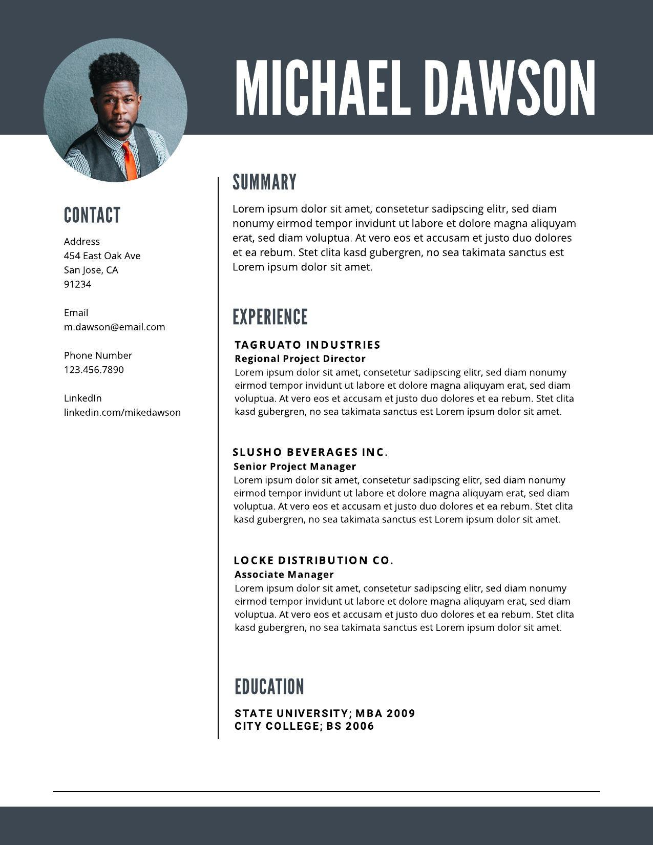 resume examples writing tips for lucidpress experience ideas image04 golf recruiting Resume Experience Ideas For Resume