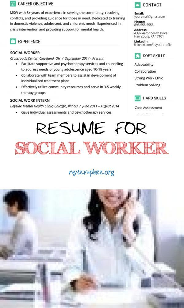 resume for social worker free templates work of sample amp writing guide pin medical Resume Social Work Resume Templates Free