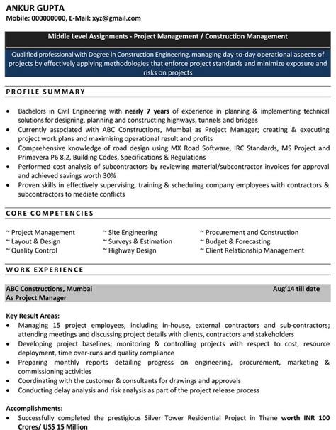 resume format for enginers pdf post date source http al engineering templates civil Resume Ankur Patel Resume Template