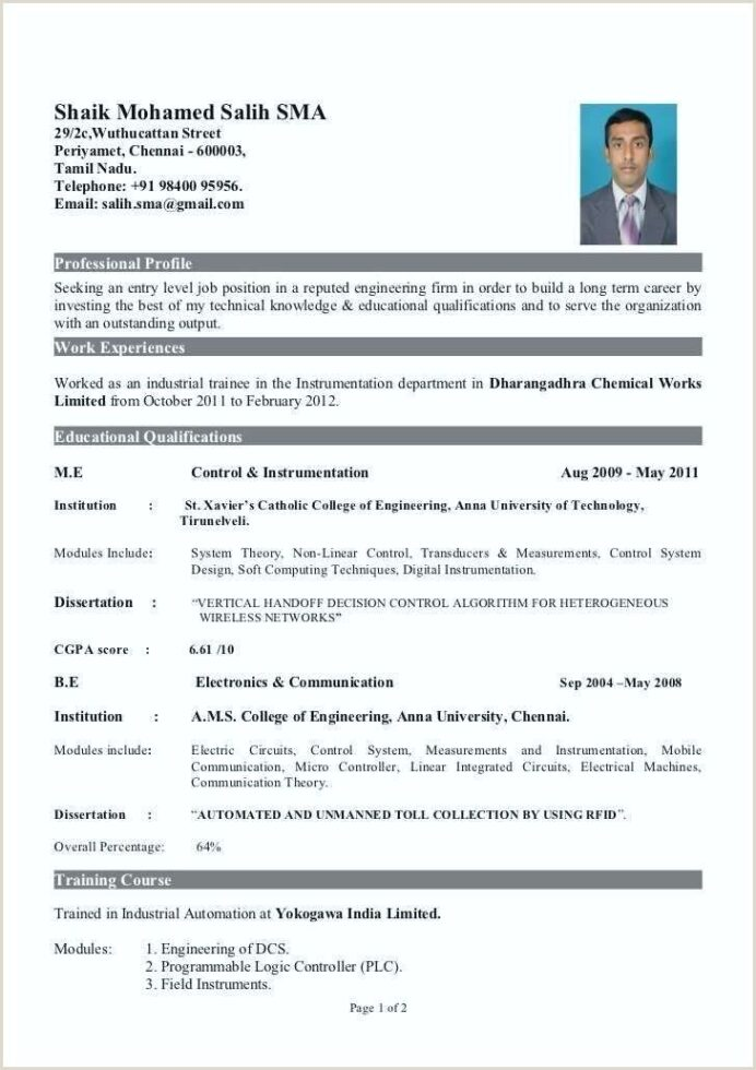 resume format for freshers pdf best examples samples electronics and communication Resume Resume Samples For Electronics And Communication Engineers