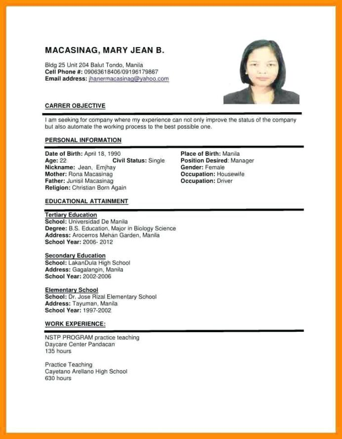 resume format job cv sample medical interpreter data entry specialist business template Resume Gulf Resume Format Sample