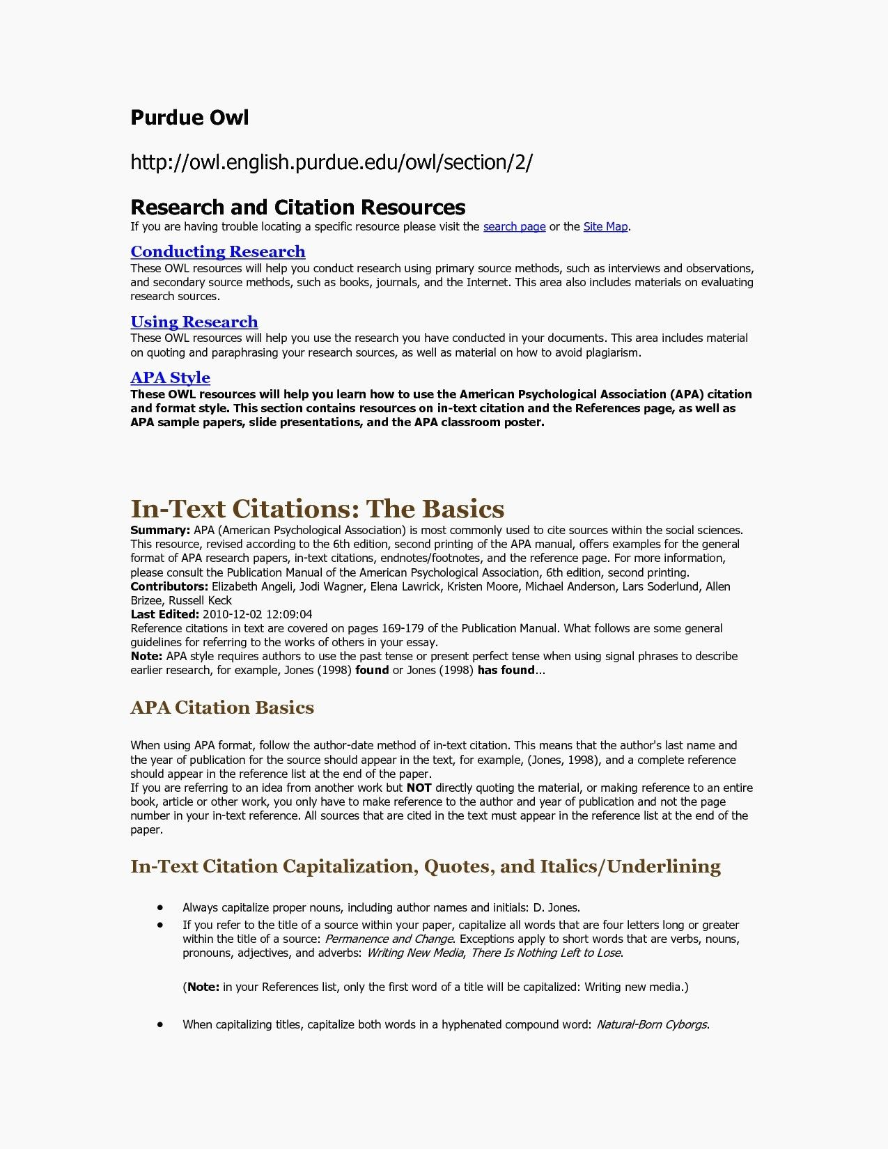resume format purdue owl cover letter template verb worksheets creative content writer Resume Resume Format Purdue Owl