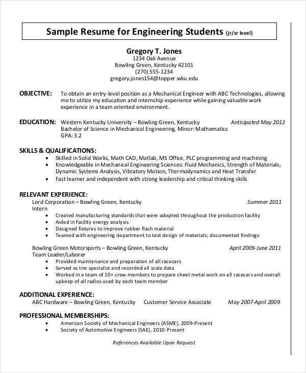 resume format word pdf free premium templates years of experience on for engineering Resume Years Of Experience On Resume