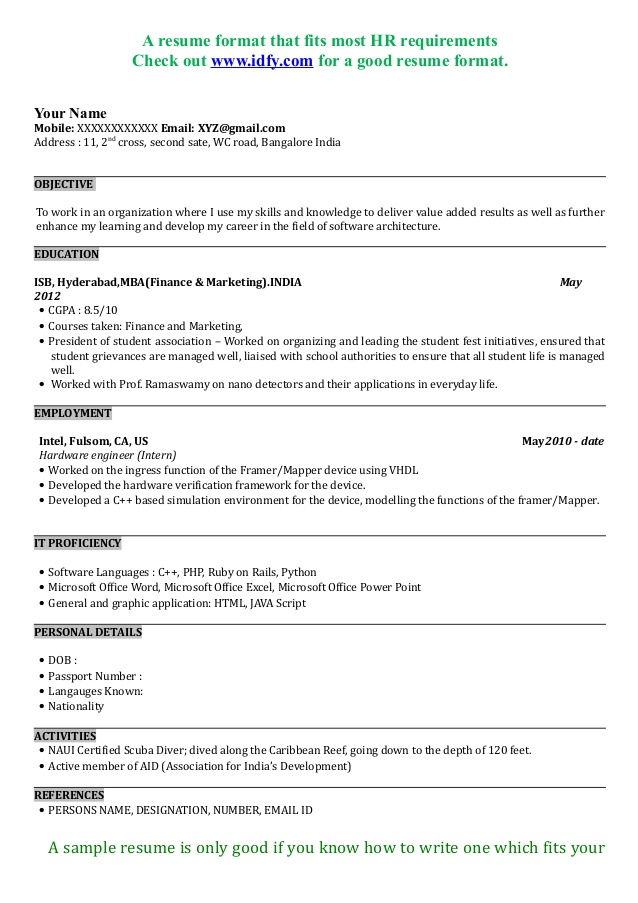 resume mba application for interview sample format entry level transcription email Resume Resume For Mba Interview