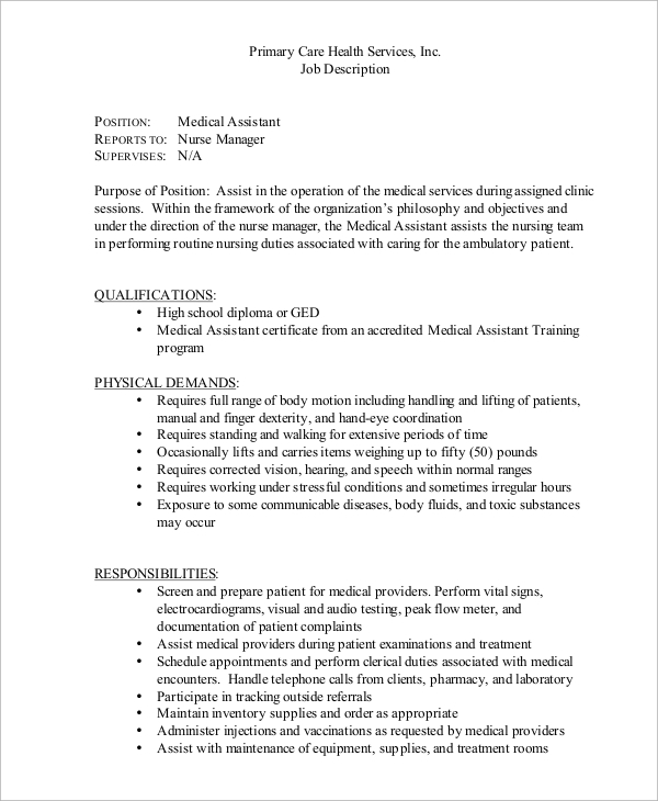 resume medical assistant job description for call center customer service best free and Resume Medical Assistant Job Resume