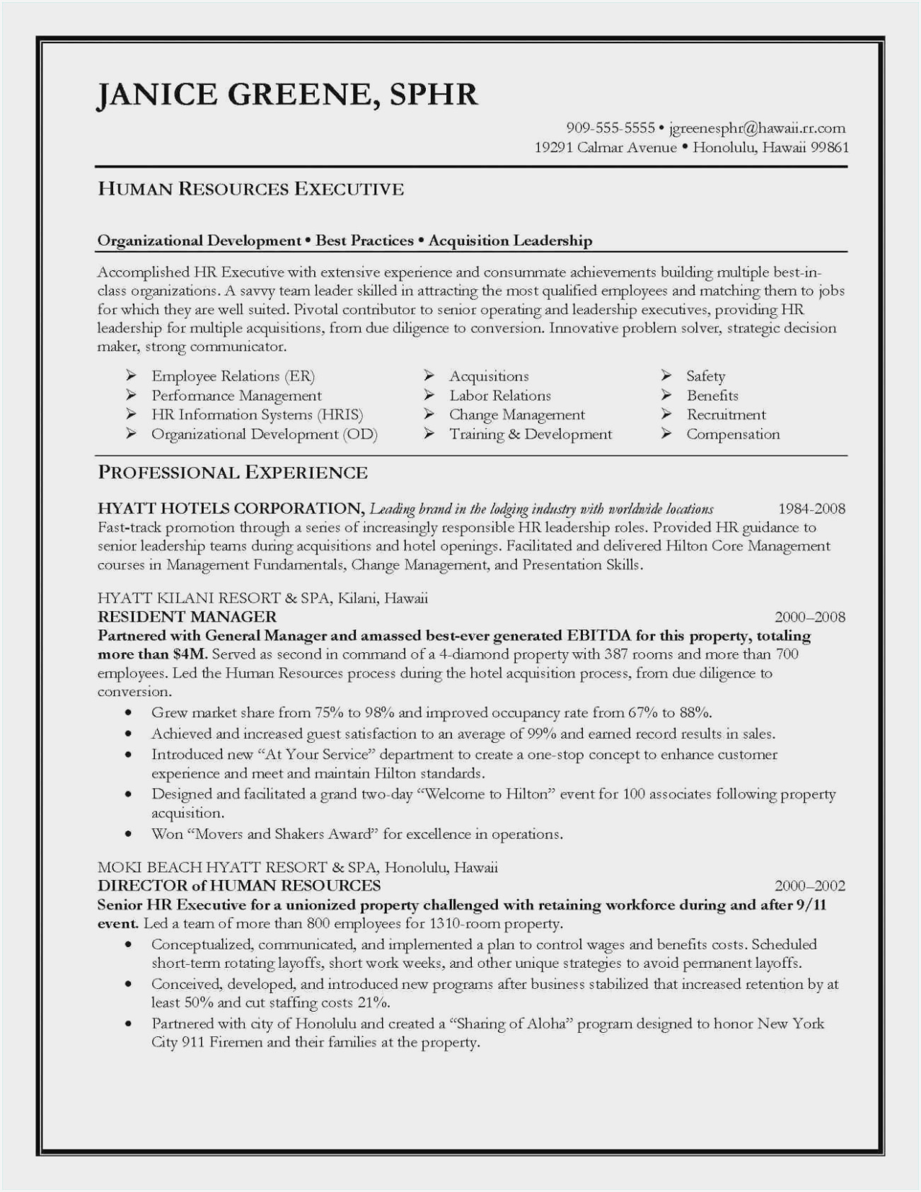 resume objective examples for leadership sample promotion senior manager operations Resume Objective For Promotion Resume