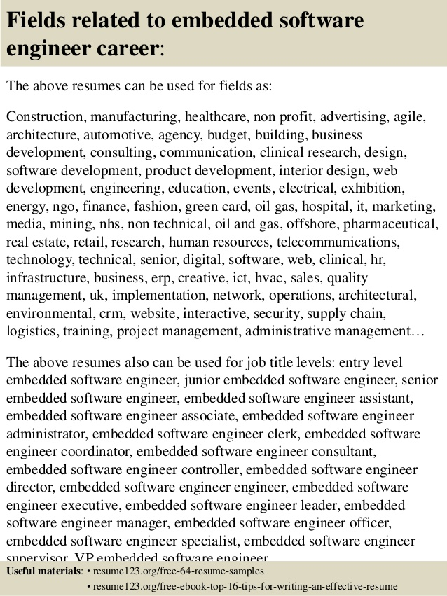 resume of embedded engineer systems top software samples researcher skills kids Resume Embedded Systems Resume