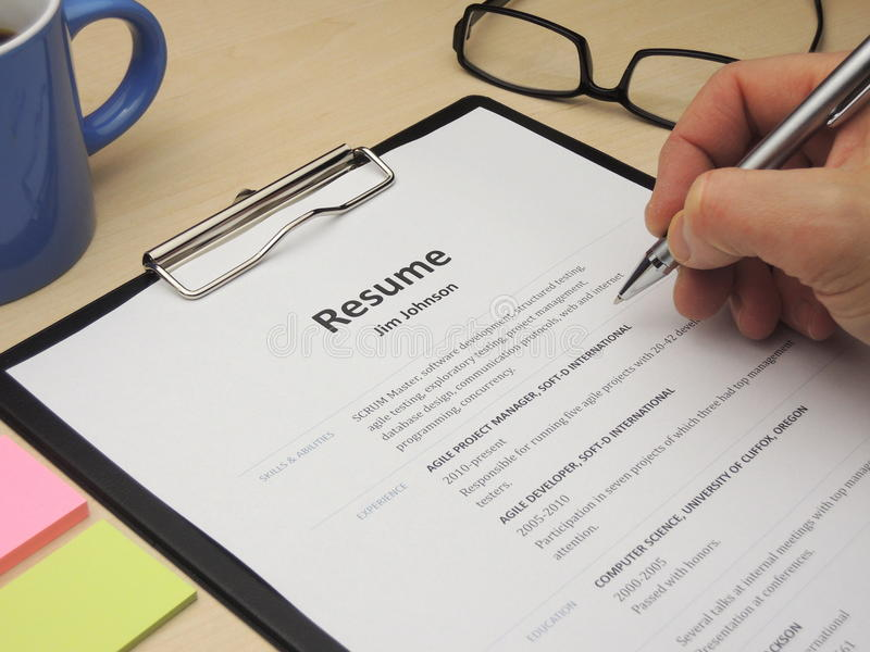 resume photos free royalty stock from dreamstime jim software developer opening line for Resume Free Stock Photos Resume