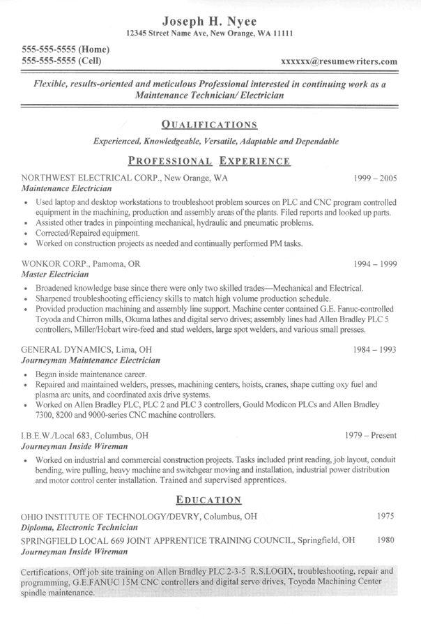resume sample auto mechanic objective examples template assessment tool advanced customer Resume Mechanic Resume Template