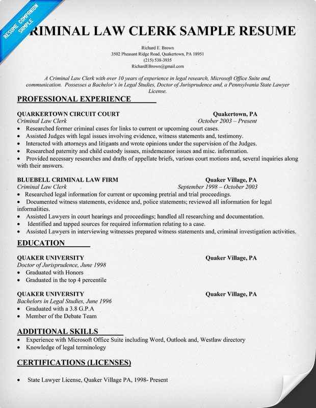 resume samples and to write companion sample cover letter teaching law clerk job Resume Law Clerk Job Description Resume