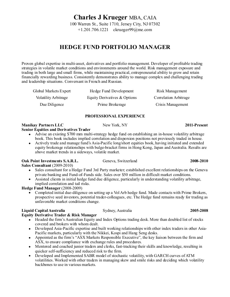 resume stock market trader resume20120518 phpapp02 thumbnail conclusion of writing contoh Resume Stock Market Trader Resume