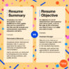 Resume Summary Vs Cover Letter