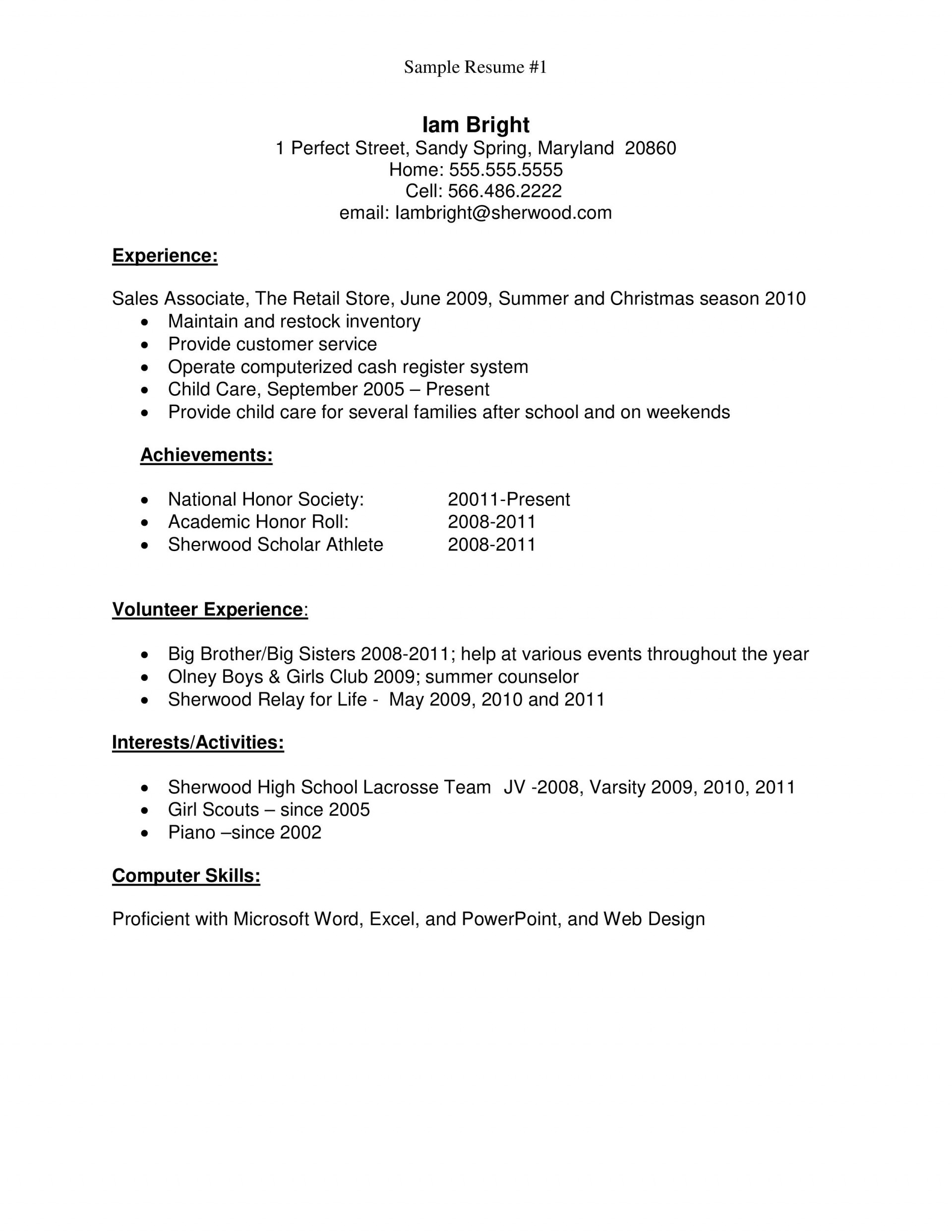 resume template high school students addictionary first job fascinating templates image Resume First Job Resume Template High School
