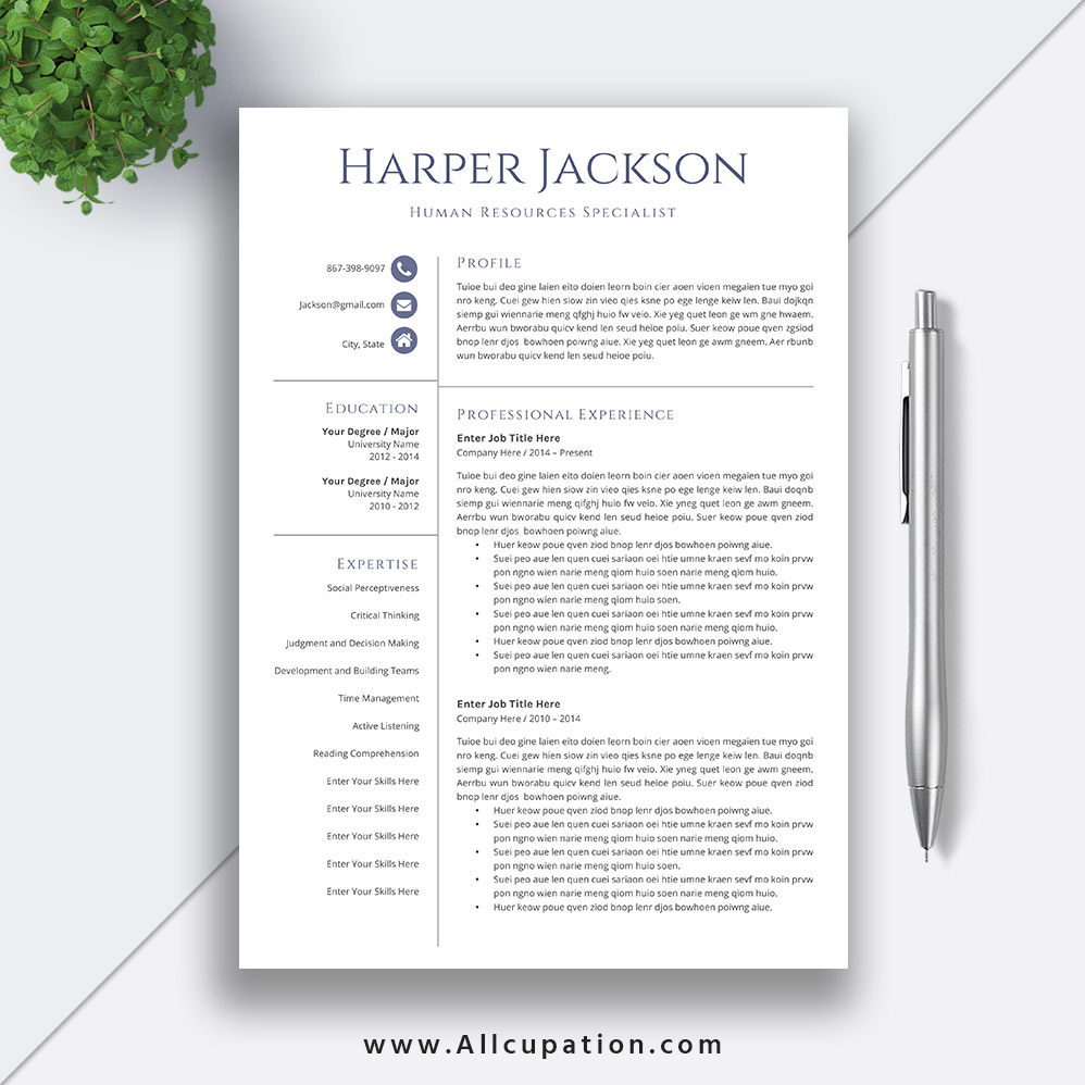 resume templates for job application editable cv template word cover letter references Resume Job Application Resume Template