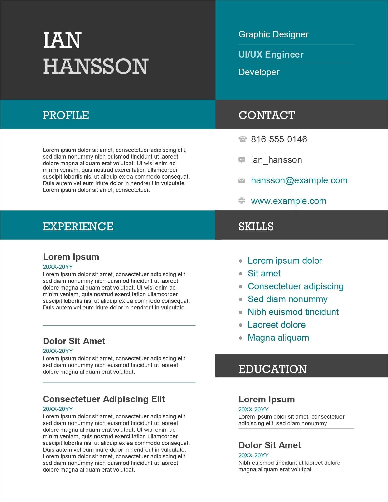 resume templates for microsoft word free formats ms word19 leadership skills objective Resume Microsoft Resume Formats Templates