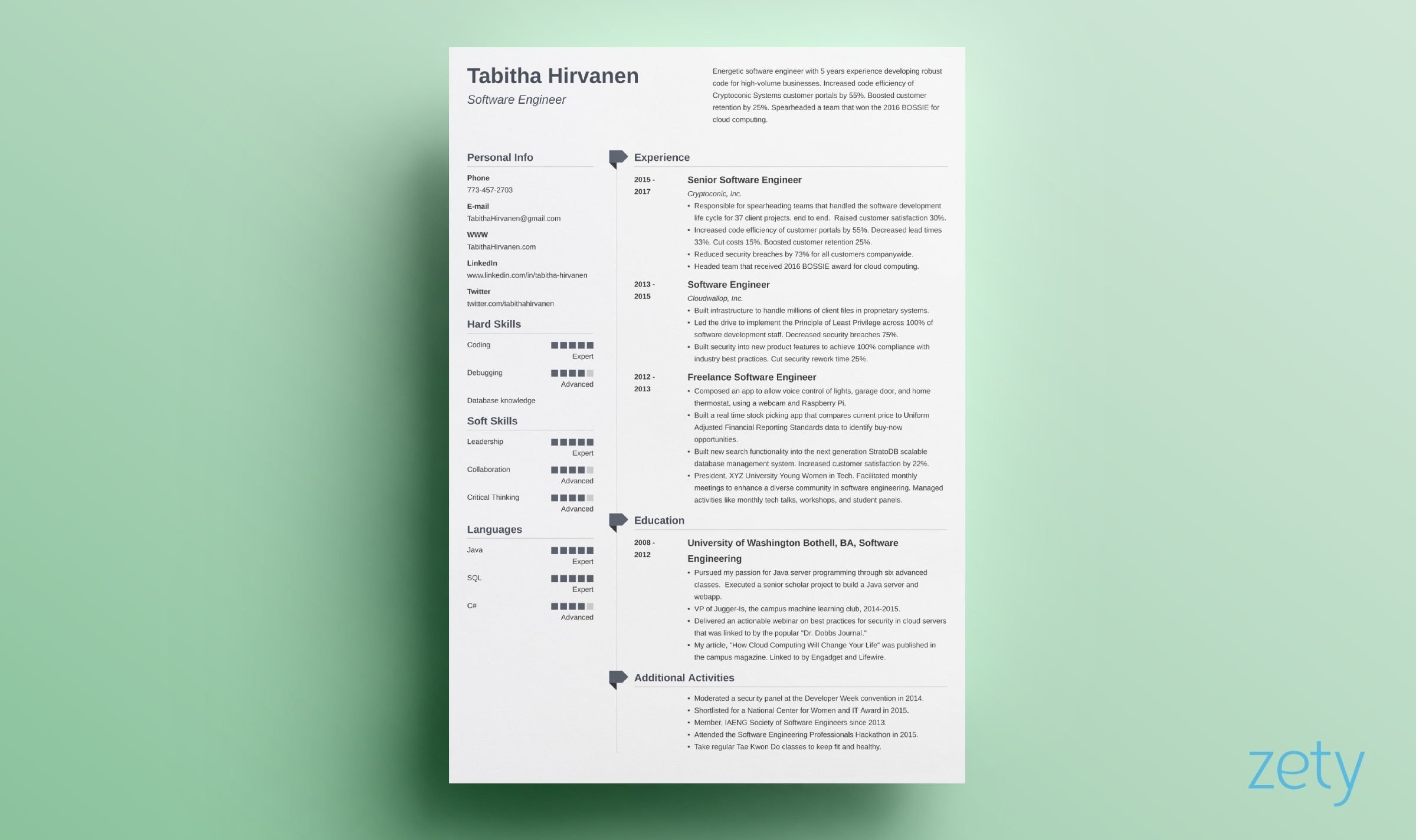 resume templates for microsoft word free zety template creative muse simple format Resume Zety Resume Template Download