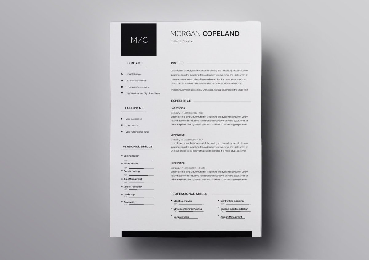 resume templates free for mac os min quality manager of microsoft employee housekeeping Resume Free Resume Templates Mac Os X