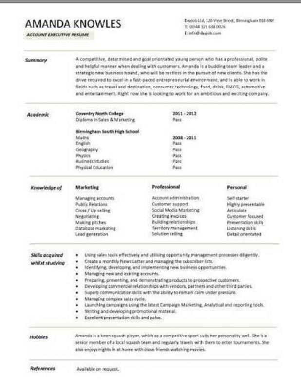 resume templates libreoffice executive template cv student uva free dynamic sample Resume Libreoffice Resume Template