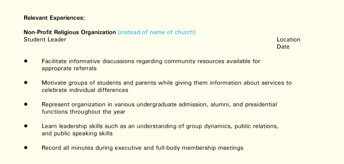 resume tips for diverse populations buckeye onpace organizational skills on relevant Resume Organizational Skills On A Resume