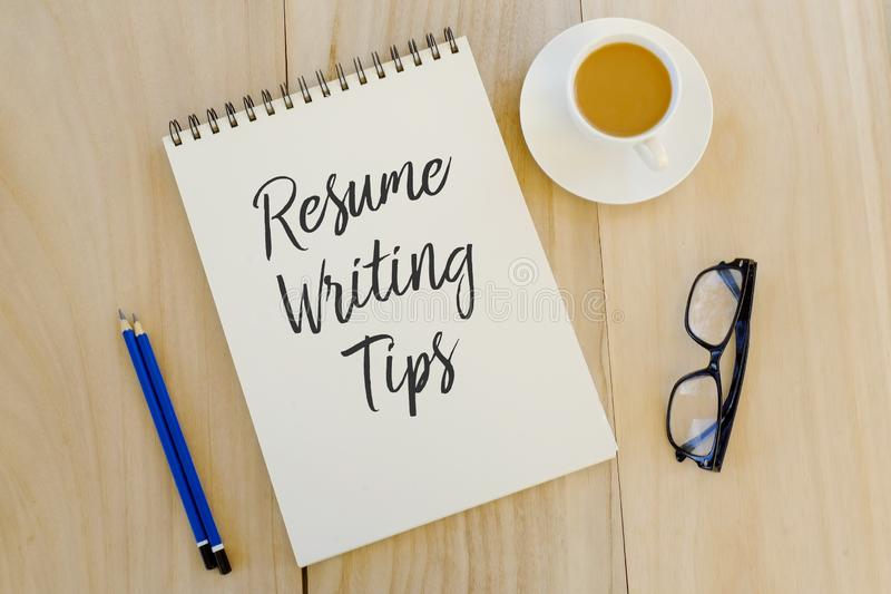 resume tips photos free royalty stock from dreamstime top view pencil glasses cup Resume Free Stock Photos Resume