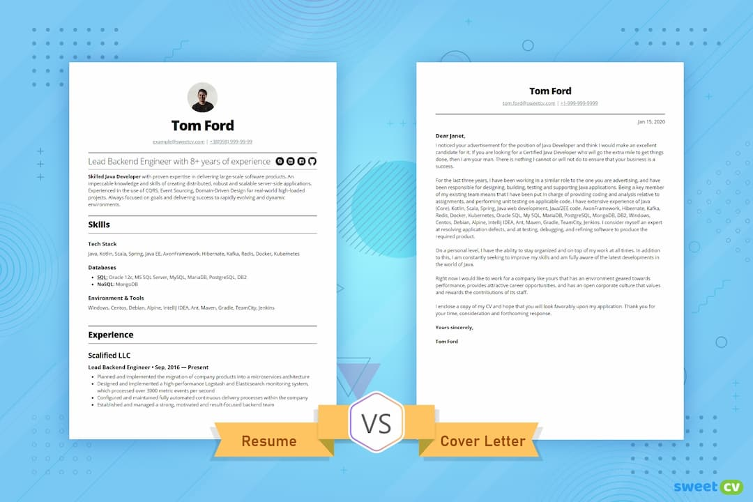 resume vs cover letter you need to know summary coverletter opt1080 special education Resume Resume Summary Vs Cover Letter