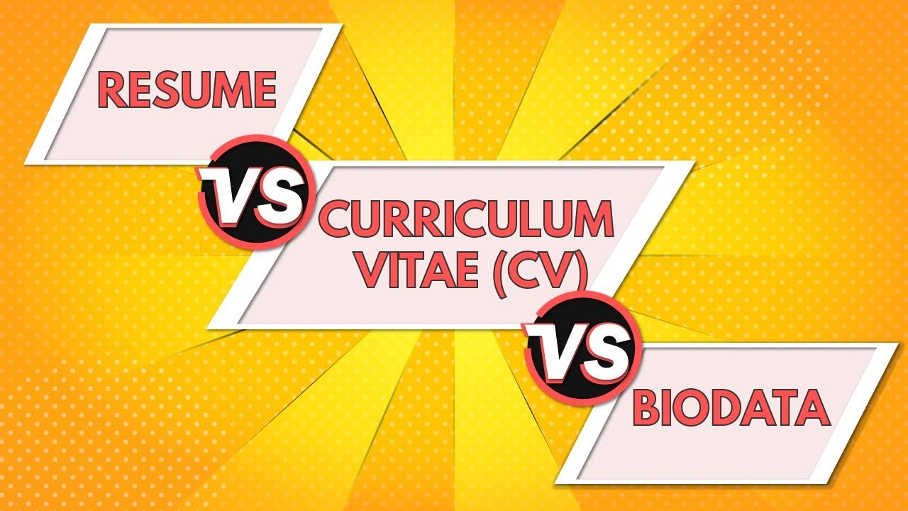 resume vs curriculum vitae biodata differences between cv and animated customer service Resume Curriculum Vitae Vs Resume