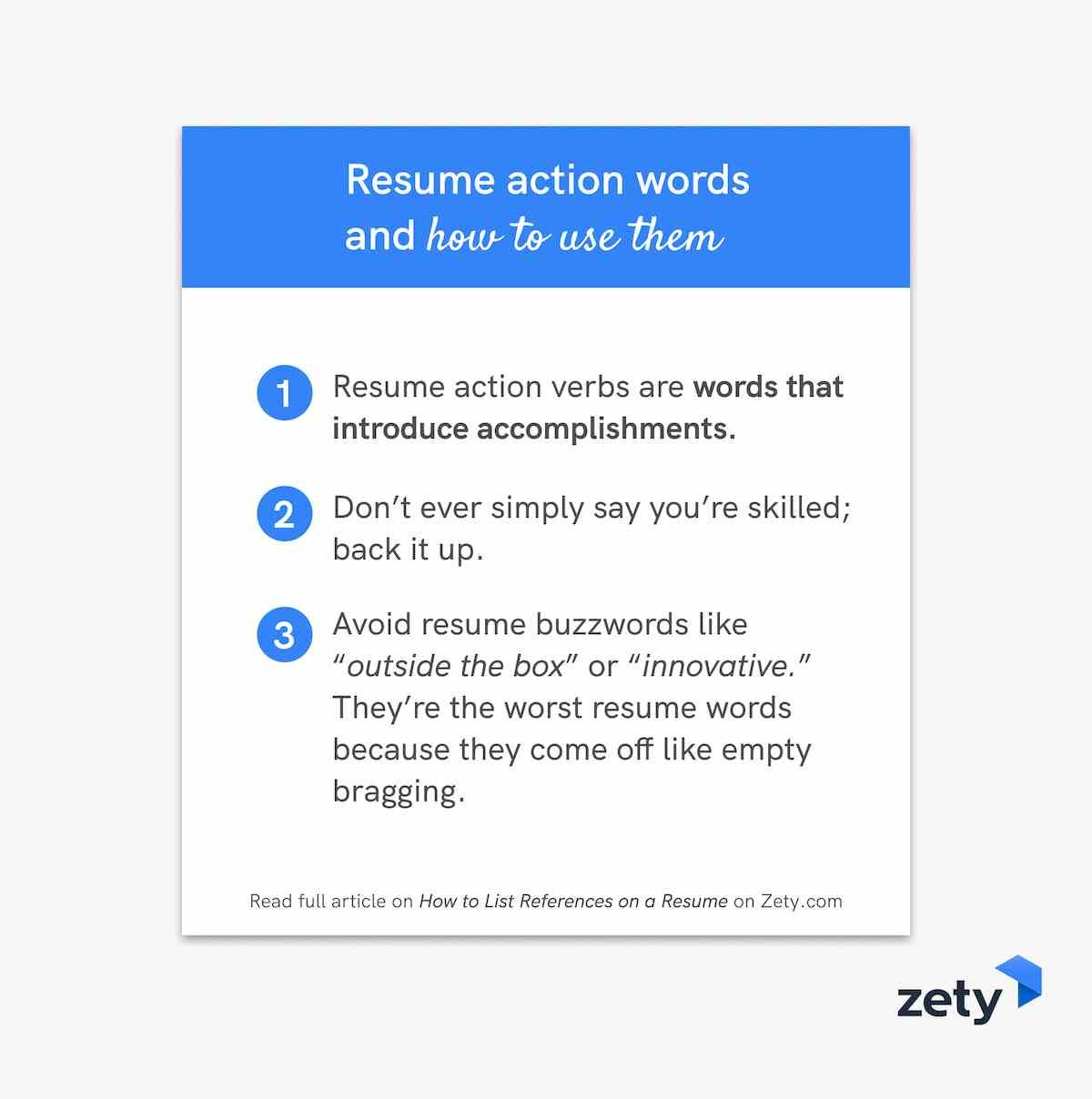 resume words action verbs good adjectives another word for and to use them customer Resume Another Word For Resume