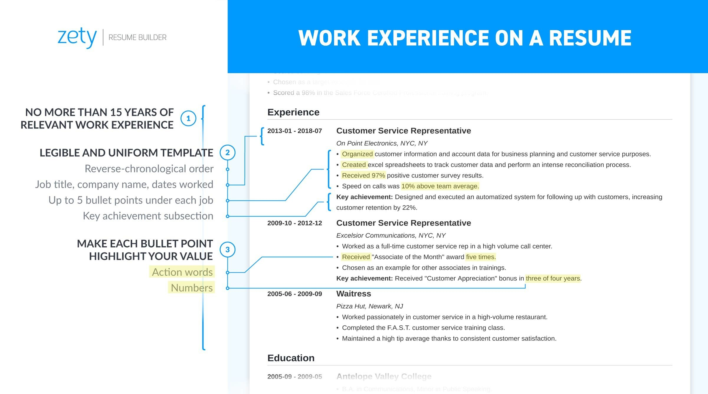 resume work experience history example job descriptions and on microsoft office staff Resume Work And Experience Resume