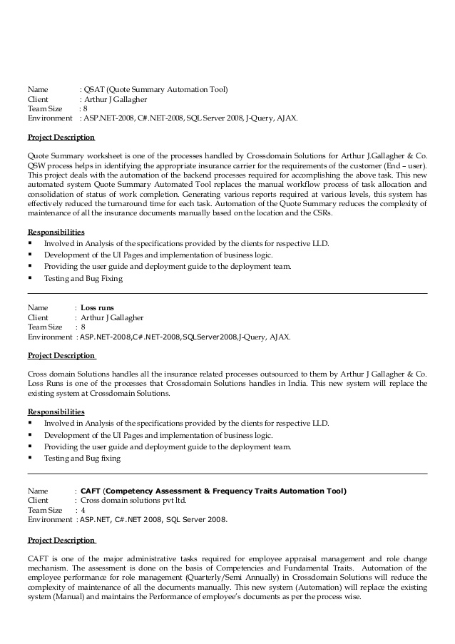 resume years of experience on manjunatha financial services summary hybrid examples Resume Years Of Experience On Resume