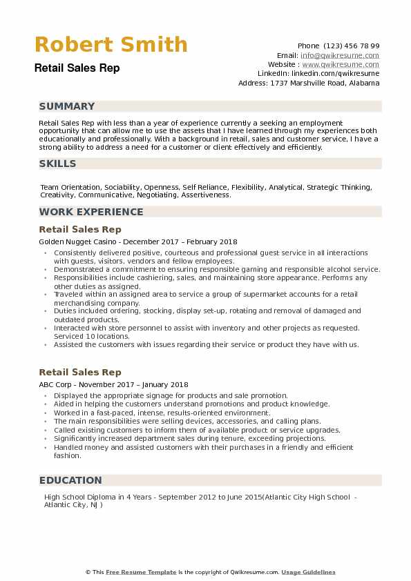 retail rep resume samples qwikresume examples customer service pdf great sample social Resume Resume Examples Customer Service Retail