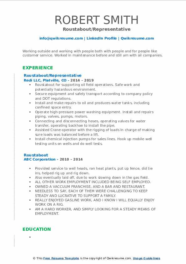 roustabout resume samples qwikresume model pdf dependable quality control experience Resume Roustabout Resume Model