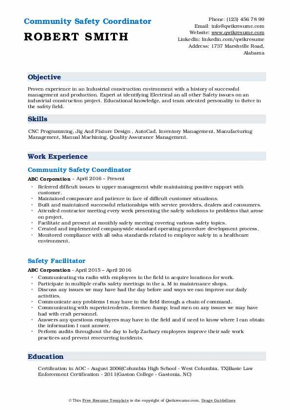 safety coordinator resume samples qwikresume pdf sample registered nurse supervisor seo Resume Safety Coordinator Resume