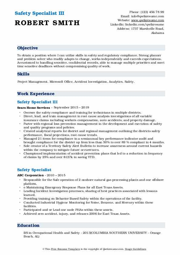 safety specialist resume samples qwikresume food pdf summary examples for human resources Resume Food Safety Specialist Resume