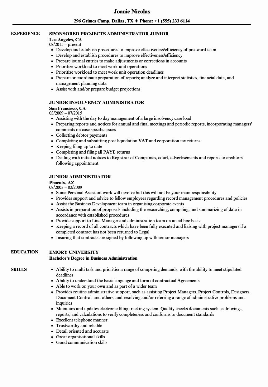 salesforce administrator resume examples best of junior samples manager customer service Resume Sample Resume For Salesforce Administrator