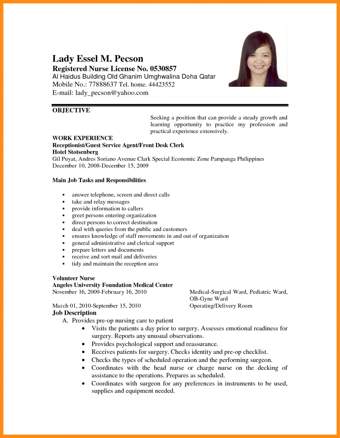 sample resume for application job template builder example seeker of format dockery Resume Job Application Job Seeker Resume Sample
