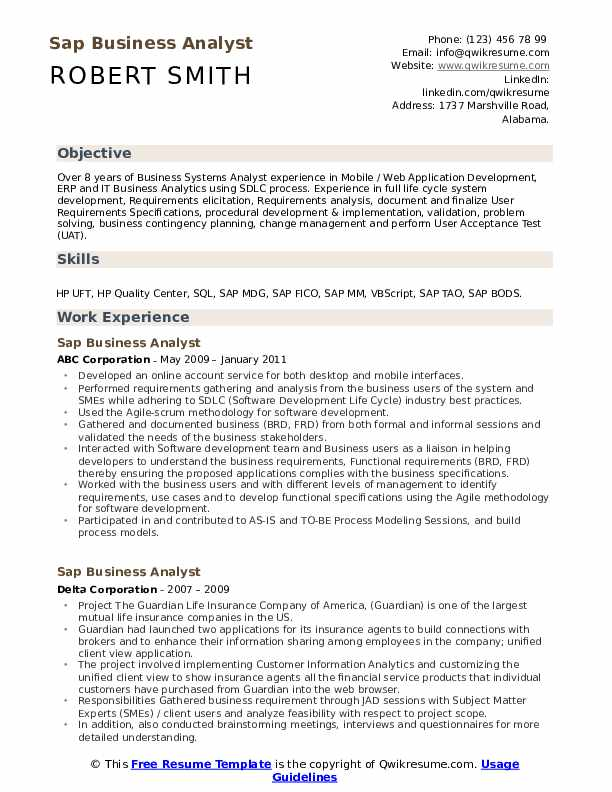 sap business analyst resume samples qwikresume data migration pdf costco front end Resume Data Migration Business Analyst Resume