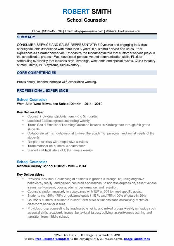 school counselor resume samples qwikresume examples pdf objective line for lpn details Resume School Counselor Resume Examples