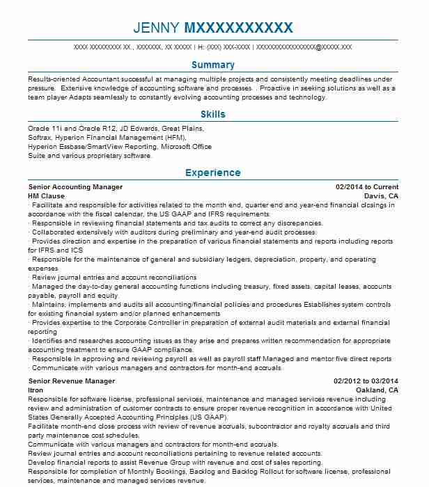 senior accounting manager resume example national oilwell varco purchased robbins myers Resume Senior Accountant Accounting Manager Resume