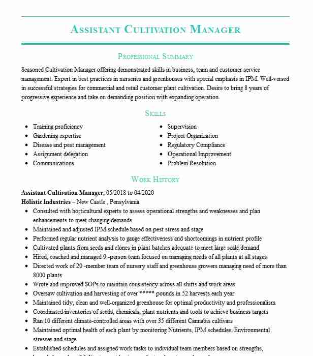 senior cultivation manager resume example swc tempe gilbert dispensary sketch template Resume Dispensary Manager Resume