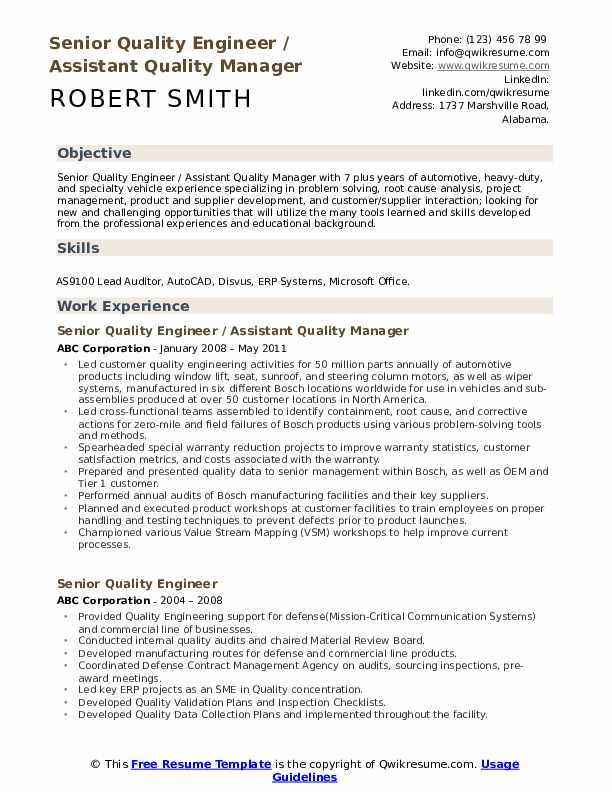 senior quality engineer resume samples qwikresume aerospace pdf medical coder sample Resume Aerospace Quality Engineer Resume