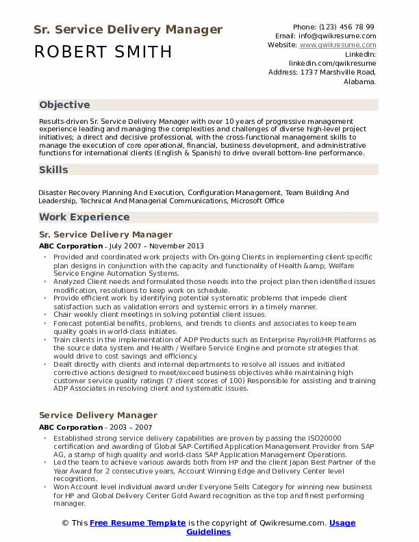 service delivery manager resume samples qwikresume director pdf aerospace program Resume Delivery Director Resume