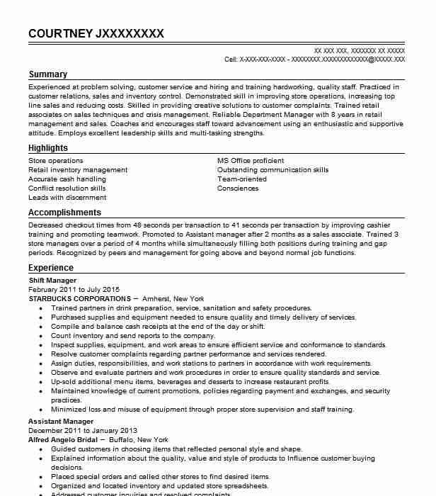 shift manager resume example aldi supermarket cape coral sample for retail assistant Resume Sample Resume For Aldi Retail Assistant