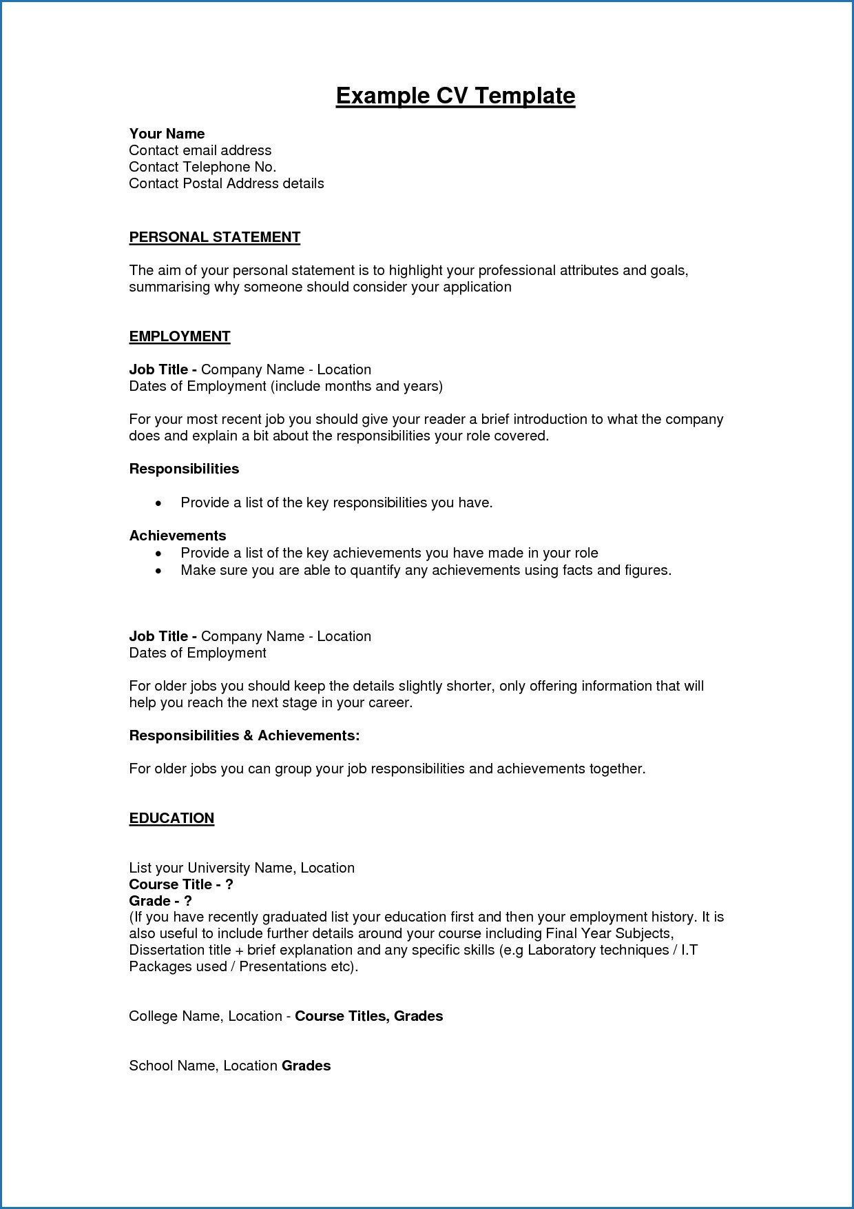 should put high school on resume luxury examples resumes free profile res personal Resume High School Resume Profile