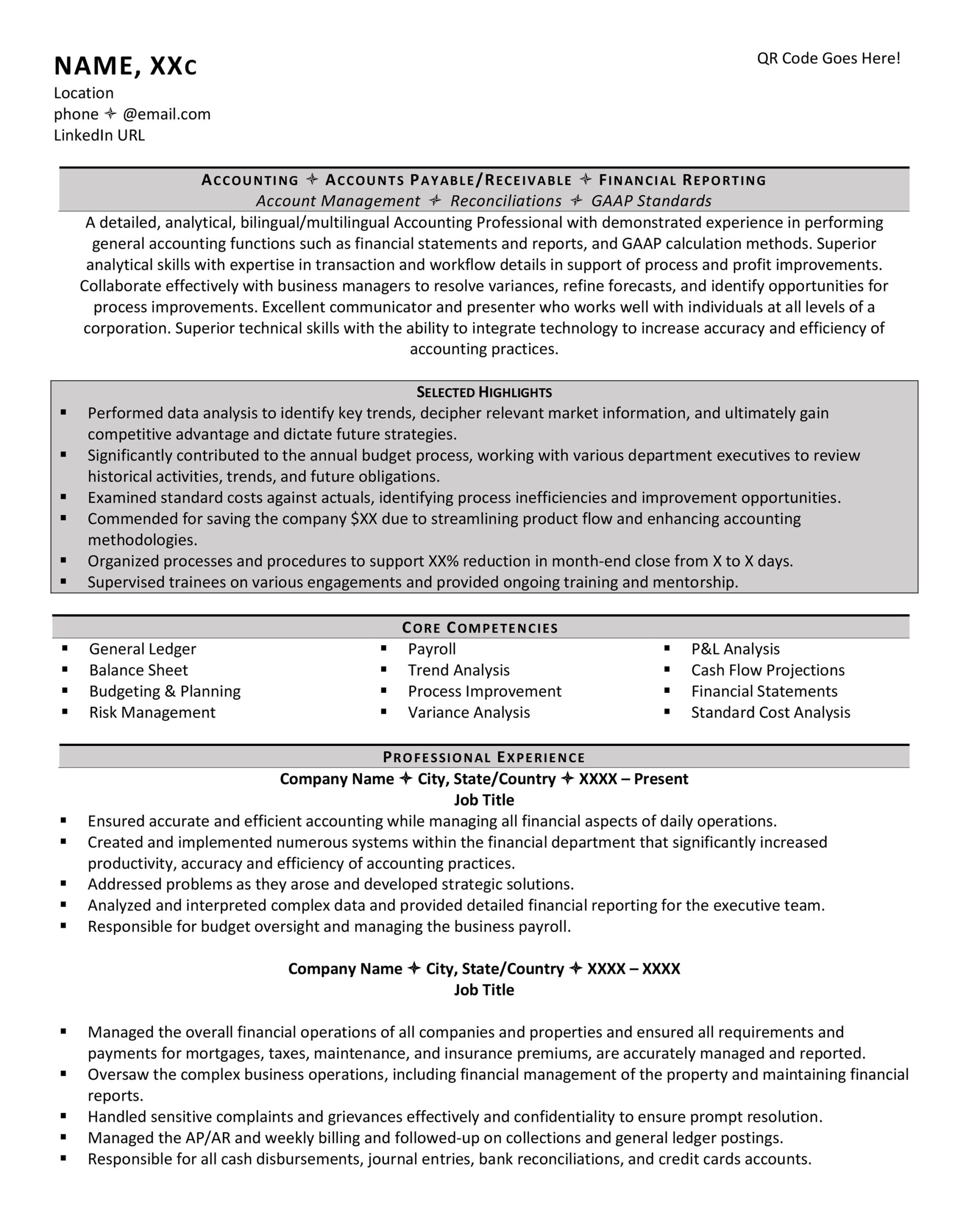 should your resume have columns examples column template accounting latex stanford Resume Resume 2 Column Template